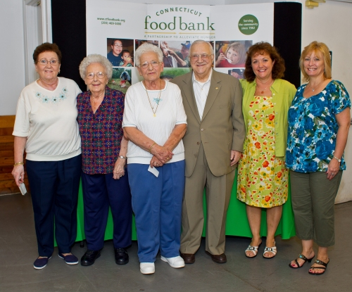 A-1 Toyota received Connecticut Food Bank's Business Hunger Action Hero Award.